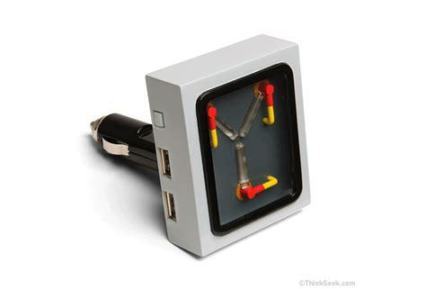 flux capacitor phone the flux capacitor is your car s new phone charger thrillist