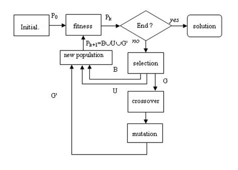 block scheme neural of non linear processes designed by genetic