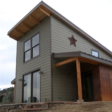 tiny home colorado this 500 square foot tiny house includes a bedroom
