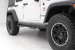 Jeep Side Rails N Fab Wrangler Jk Wheel To Wheel Nerf Steps