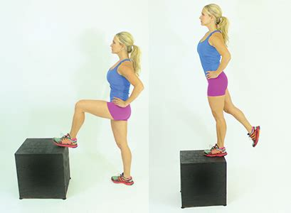 high bench step ups three easy moves to your best butt ever muscle fitness