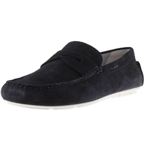 Kickers Slip G I Suede armani armani navy blue suede slip on shoes