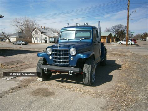 Truck Or Jeep 1953 Willys Jeep Truck