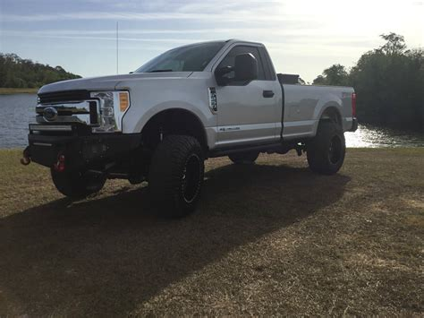 trucks for sale almost new 2017 ford f 250 xl standard cab monster truck