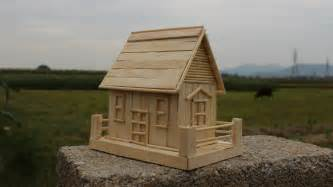 how to build a popsicle stick house how to make a popsicle stick house simple tutorial