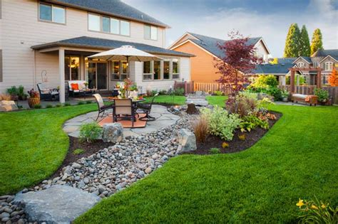 Big Backyard Landscaping Ideas by Big Gardens Ideas Landscaping Corner
