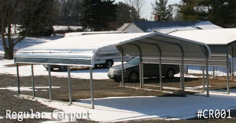 Carport Leg Extensions regular style carports