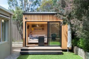 How To Make A Sloped Backyard Flat Blackburn Office Studio Contemporary Shed Melbourne