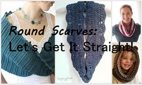 infinity mobius cowl or a guide to scarves