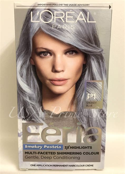 loreal hair dye colors x2 l oreal hair color feria pastels dye p1 smokey