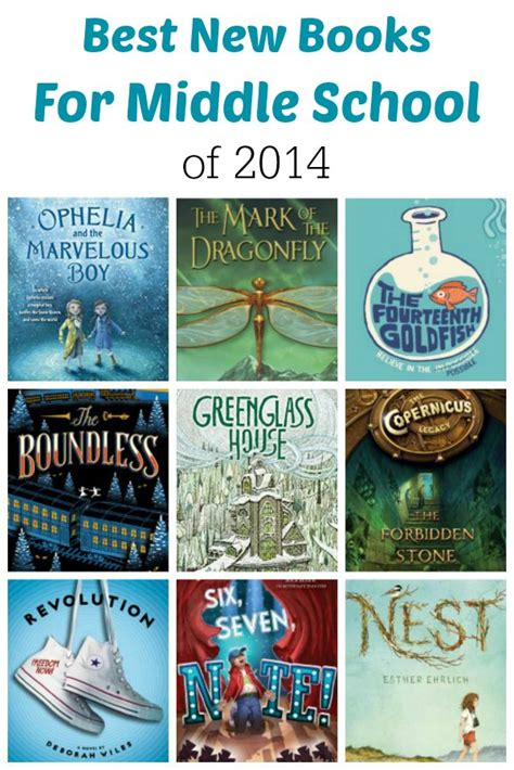 middle school picture books best new books for middle school of 2014