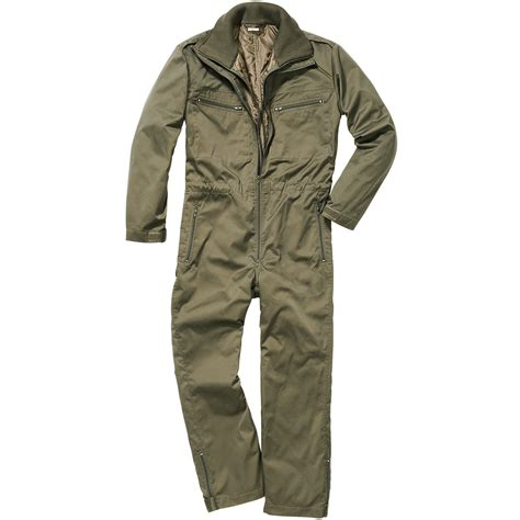Olive Overall Inner by Brandit Panzerkombi Overall Olive Brandit 1st