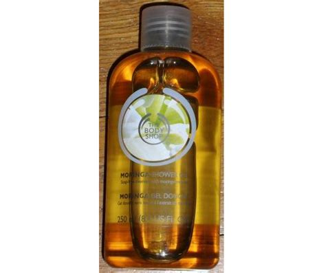 Moringa Shower Gel 60ml test reinigung the shop moringa shower gel