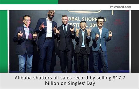 alibaba one day sale record alibaba shatters all sales record by selling 17 7 billion