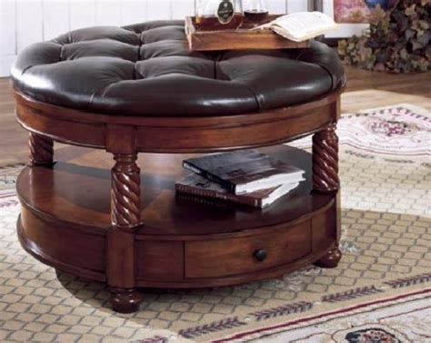 cheap mondo 24 quot tufted round ottoman upholstery grass for cheap discount round leather ottoman online