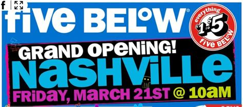 Five Below Gift Card - my music city mommy family savings nashville tennessee five below retail coming