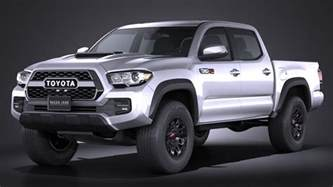 Toyota Tacoma Pictures Toyota Tacoma Trd Pro 2017 Squir