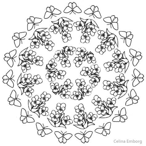 imagenes de mandalas con flores mandalas con flores celina emborg