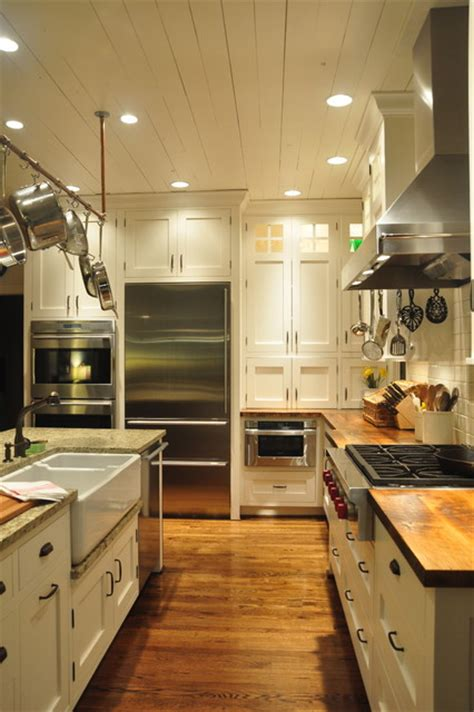 Charming Hanging Ceiling Lights For Kitchen #2: Farmhouse-kitchen.jpg