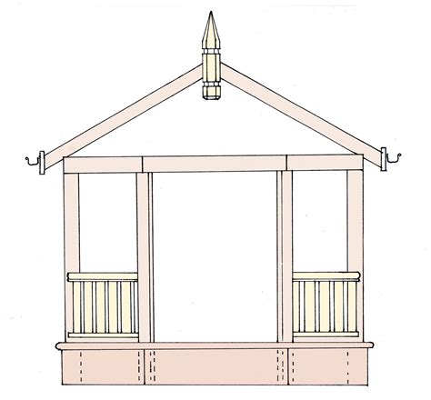gazebo floor plans building plans for gazebos and pergolas 187 woodworktips