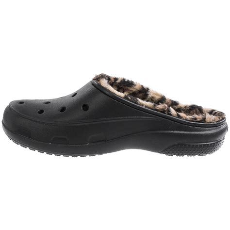 croc clogs for crocs freesail leopard lined clogs for save 50
