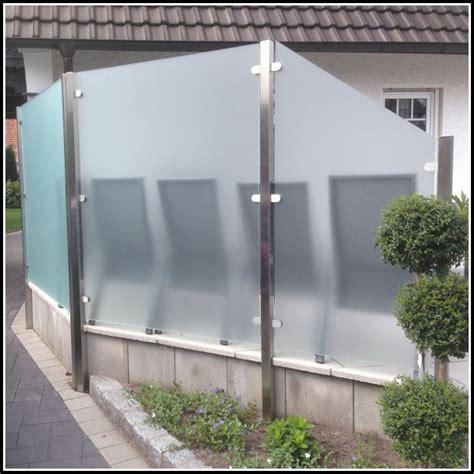 Terrasse Sichtschutz Glas by Terrassen Sichtschutz Glas Terrasse House Und Dekor