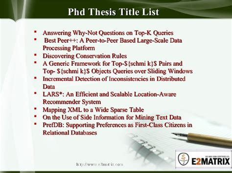 phd dissertation titles best phd thesis titles mfacourses887 web fc2