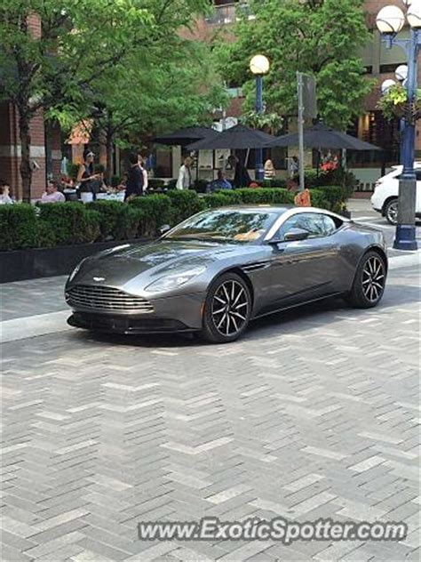 Aston Martin Canada by Aston Martin Db11 Spotted In Toronto Ontario Canada On 05