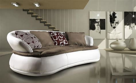 divani ovali divano dalla forma rotonda varie dimensioni idfdesign