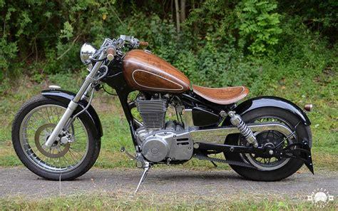 Motorrad Suzuki Ls 650 by Der Mit Dem Holz Tanzt Cooles Motorrad Customizing Mit