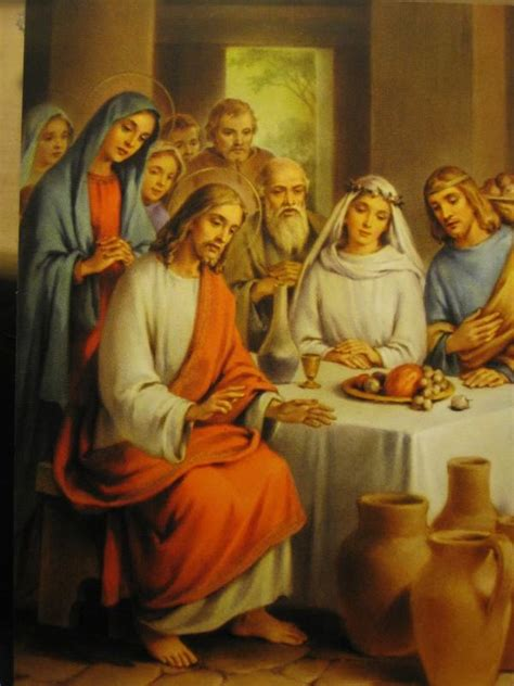 The Wedding At Cana Luminous Mystery by The Luminous Mysteries Come Pray The Rosary