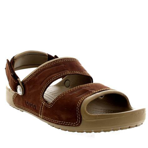 mens velcro sandals uk mens crocs yukon two open toe lightweight