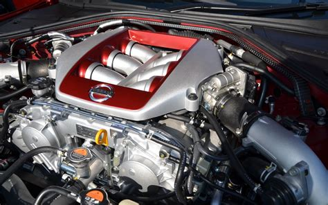2015 nissan gtr engine 2015 nissan gt r turbocharged engine note the plaque