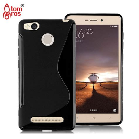 soft for xiaomi redmi 3 soft tpu silicone rubber transparent cover for xiaomi