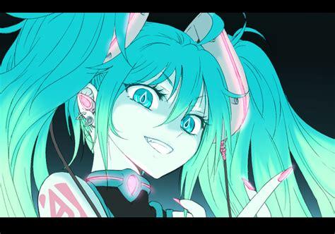 Dari Anime Manakah Hatsune Miku Hatsune Miku Mecha Imut Tapi Gebrak Kantong Se Bolong