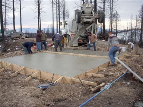Pouring Concrete Slab For Shed by Moving Ahead Cheerfulmonk
