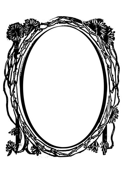 imagenes vintage para imprimir en espejo dibujo para colorear espejo img 28075
