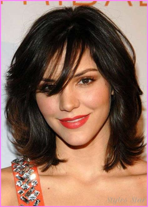 hairstyles round face 2017 short haircuts 2017 round face stylesstar com