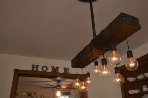 unique diy farmhouse overhead kitchen lights farm house light pendant lighting wood light kitchen