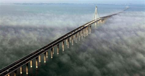 qingdao haiwan bridge the ninja chronicles of ak most amazing scary bridges
