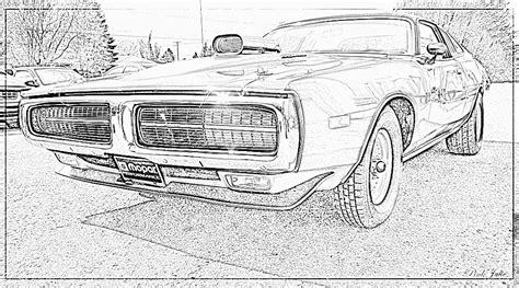 Coloriage 224 Imprimer V 233 Hicules Voiture Dodge Num 233 Ro Coloriage De Voiture De Fast And Furious