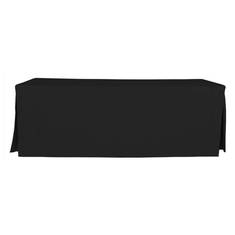 Black Table Covers 8 foot black table cover