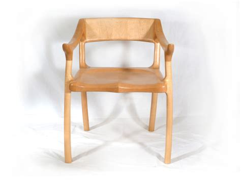 of the chair maloof inspired lowback chair e c connor sculptural