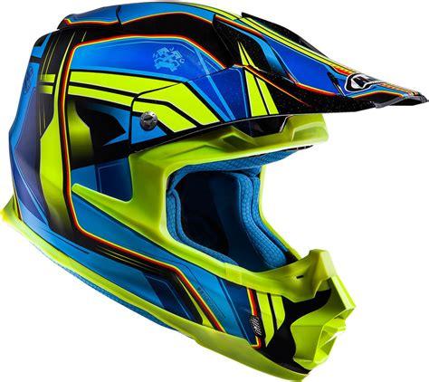 Helm Cross Hjc hjc fg 17 visor hjc fx cross piston mx helmet hjc blue yellow hjc cl 15 helmets innovative