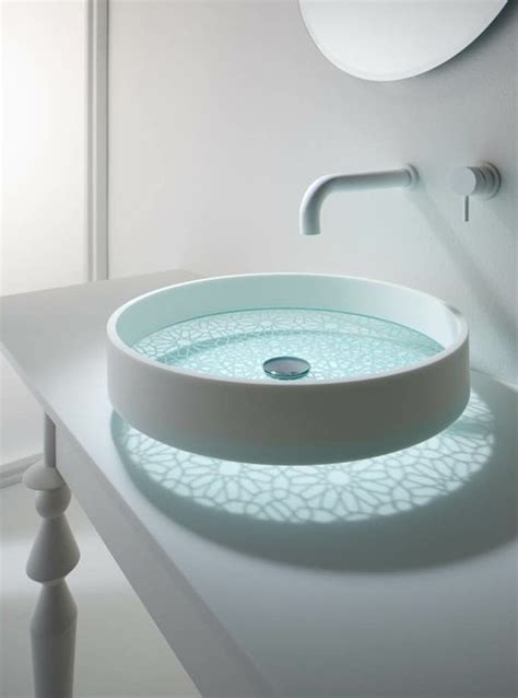 creative motif basins with delicate patterns by omvivo digsdigs