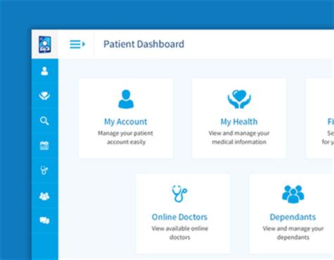application design group medical healthcare web application dashboard on behance