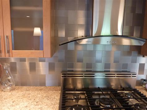 kitchen wall backsplash modern stainless steel copper backsplash tiles with modern