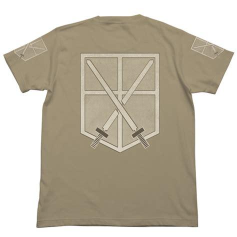 kaos anak attack on titan survey corps bersiaplah merchandise terbaru shingeki no kyojin