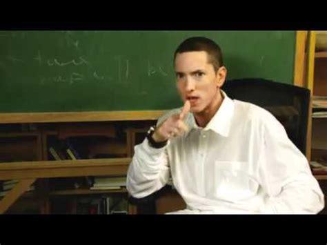 Goes Back To School by Eminem Goes Back To High School Eminem News