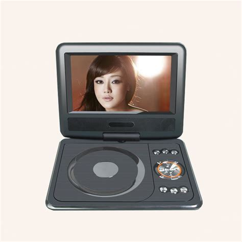Tv Portabel Mobil Electronic 7 8 Inch Portable Dvd Player Mini Tv Hd 180 Swivel Widescreen Usb Sd Card Direct